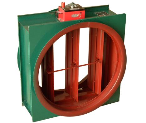 圆形防火阀设备